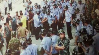 Activistas defensores de derechos civiles juzgados y condenados como si fueran criminales