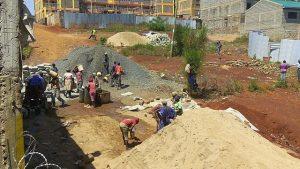trabajadores en kenia