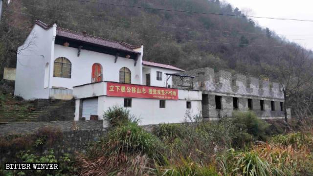 El templo de Guanyin en el poblado de Meijie