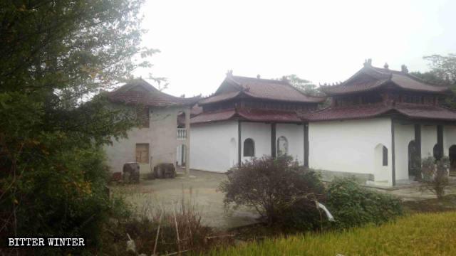 El templo de Xifeng en el condado de Qingyang