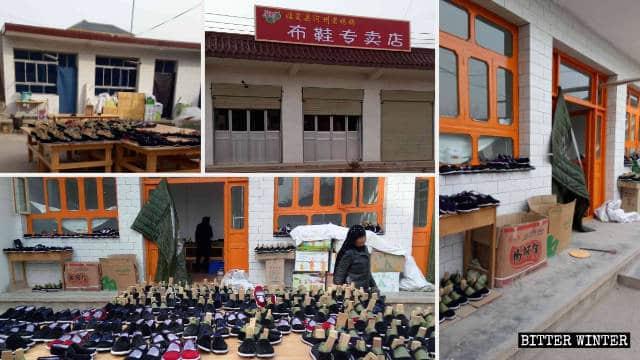 La Mezquita Oriental de Huangniwan fue convertida en una fábrica de zapatos.