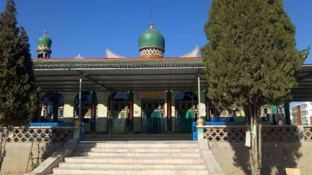 Apariencia original de la mezquita de Beida.