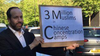 La historia del judío solitario: defendiendo al pueblo uigur en Londres