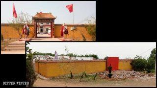 """El Templo del Mao Zedong es demolido tras el informe de """"Bitter Winter"""""""