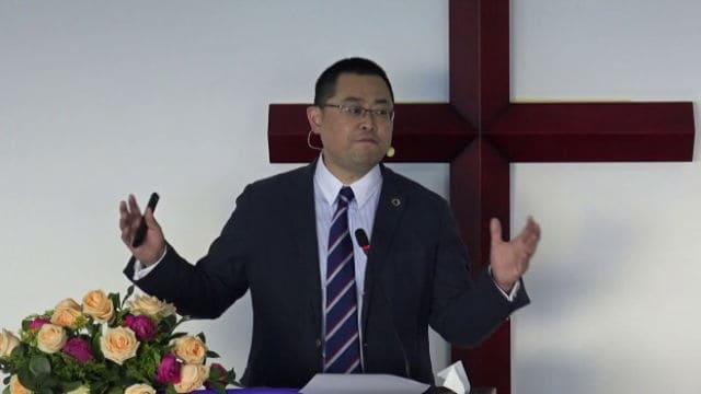 Pastor Wang Yi.