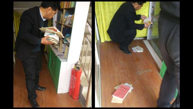 Funcionarios están confiscando materiales relacionados con el maestro Chin Kung.