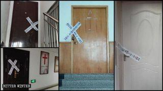 Diez sitios de reunión de Sola Fide en la ciudad de Zibo, en Shandong, fueron cerrados
