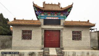 De qué manera está el PCCh eliminando lugares pertenecientes a las religiones budista y popular