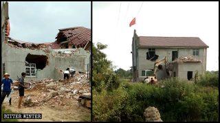¡Demuelan o vendan! Iglesias de las Tres Autonomías son dispersadas en Jiangxi